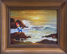 Woody Woodpecker- Fishing By The Sea